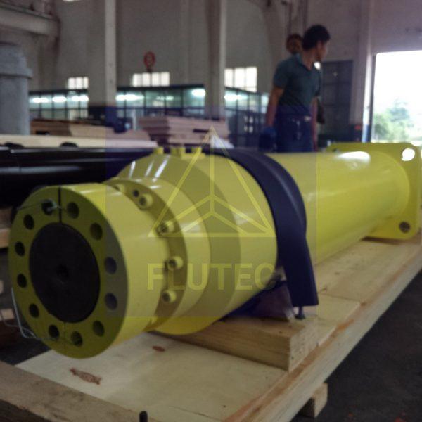 Hidrolik Balya için İtici Silindir (1)